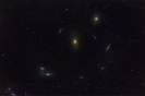 M86 und Begleiter aus der Marjanschen Kette von Galaxien_1
