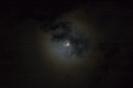 Mond mit Hof (Aureole/Korona)