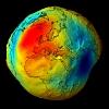 Erde ohne Wassermantel; credit ESA